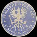 Siegelmarke Bürgermeister-Amt Büsbach Landkreis Aachen W0383136.jpg