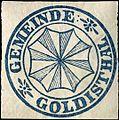 Siegelmarke Gemeinde Goldisthal W0310747.jpg
