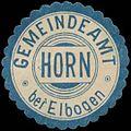 Siegelmarke Gemeindeamt Horn bei Elbogen W0343933.jpg
