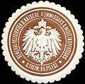Siegelmarke General - Delegierter des kaiserlichen Kommissars und Militär Inspekteurs der Freiwilligen Kranken - Pflege W0238405.jpg