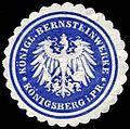 Siegelmarke Königliche Bernsteinwerke - Königsberg in Preussen W0235810.jpg