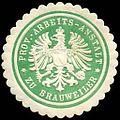 Siegelmarke Provinzial Arbeits - Anstalt zu Brauweiler W0247037.jpg