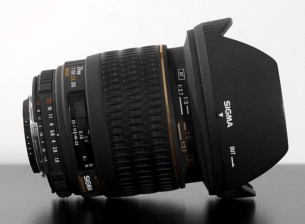 Sigma 24mm F 18 Ex Dg Lens Wikipedia 85mm 14 Hsm Nikon