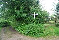 Signpost at Allers, Chillington - geograph.org.uk - 825965.jpg