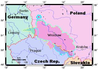 Map Prussia-Silesia