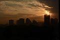 Silhouette of Powai skyline Mumbai.JPG