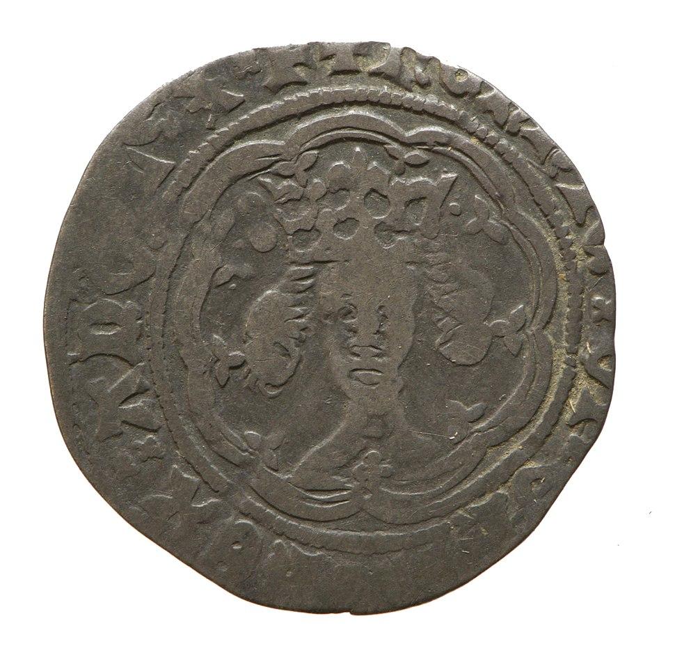 Silver half groat of Henry IV (YORYM 1994 151 102) obverse