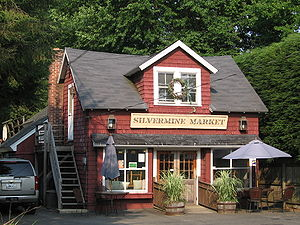 Silvermine, Connecticut - Silvermine Market, aside from the tavern and its associated store, the only other business in the neighborhood