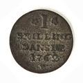 Silvermynt, 1 skilling, 1762 - Skoklosters slott - 109617.tif