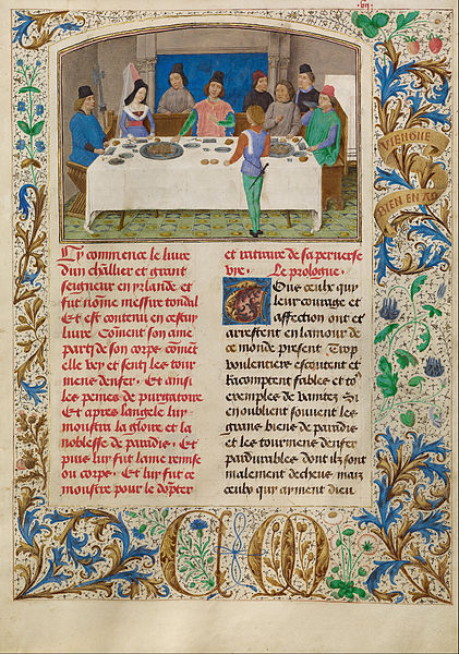 File:Simon Marmion (Flemish, active 1450 - 1489) - Tondal Suffers a Seizure at Dinner - Google Art Project.jpg