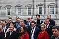 Sinn Féin MPs, MLAs & TDs gather ahead of the Dáil100 event (46112403474).jpg
