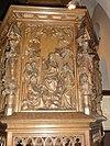 sint martinuskerk katwijk (cuijk) preekstoelpaneel 3, bergrede