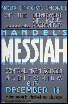 """Sioux City Civic Chorus of the Department of Public Recreation presents Handel's """"Messiah"""" LCCN98512339.tif"""