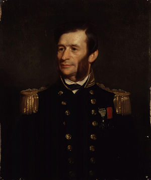 George Henry Richards - Admiral Sir George Richards by Stephen Pearce