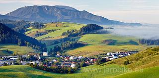 Sklabiňa Village in Slovakia