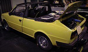 Škoda Rapid (1984) - A 1985 Rapid Cabriolet