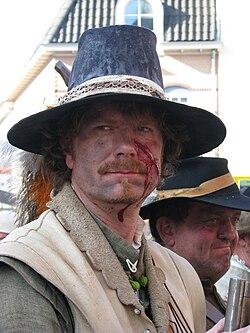 Slag om Grolle 2008-3 - Een gewonde soldaat opnieuw klaar voor de strijd