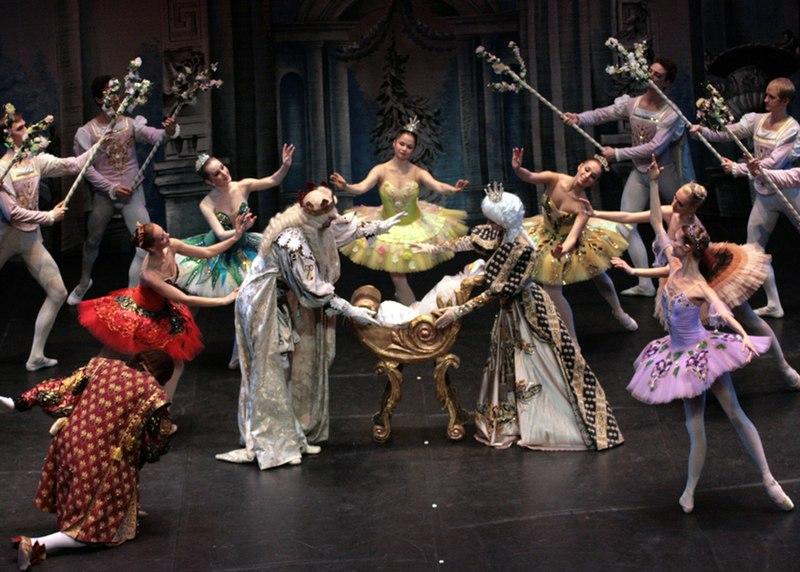 File:Sleeping Beauty fairies at christening.jpg