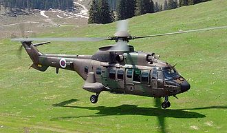 Slovenian Air Force and Air Defence - Slovenian AS532 Cougar
