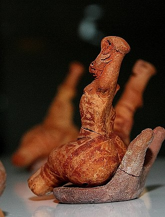 History of tattooing - Possible Neolithic tattoo marks depicted on a Pre-Cucuteni Culture clay figure from Romania, c. 4900-4750 BC.