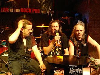 Sodom (band) - Sodom in Bangkok, Thailand (2007).