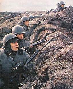 Argentine soldiers during the Falklands War Soldadosargentinos3.jpg
