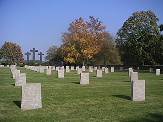German War Graves Commission - Solers, France (Total burials: 2,228)