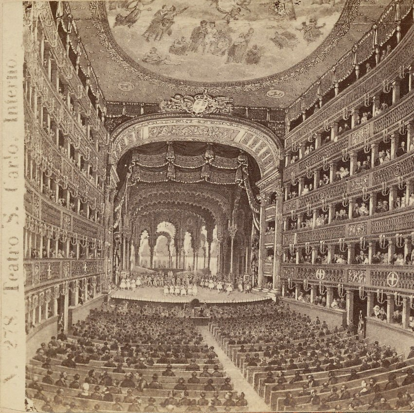 Sommer, Giorgio (1834-1914) - n. 0278 - Napoli - Teatro San Carlo 2