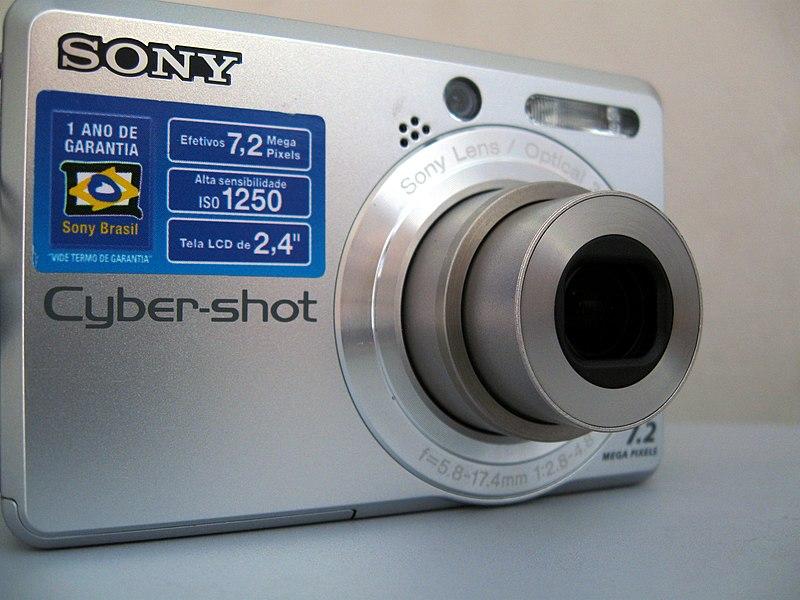 Sony cyber shot dsc s730