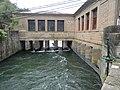 Sortida del túnel de la Llenguadera 03 - Casa de les Comportes.JPG