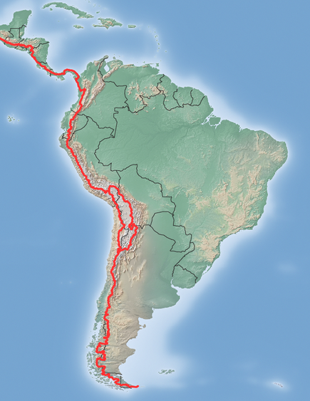 The Continental Divide in Central America and South America. SouthAmerica-ContinentalDivide.png