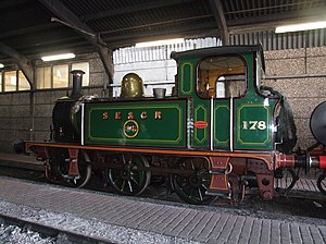 South Eastern & Chatham Railway 178 Bluebell Railway (1).jpg
