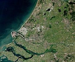Locatie van Zuid-Holland