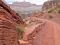 South Kaibab Trail into the Grand Canyon - (17219131021).jpg
