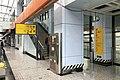 Southbound platform of Tongjiayuanzi Station (20191224113607).jpg