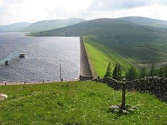 Daer Reservoir - Daer Reservoir and dam