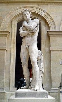 Spartacus, statue de Denis Foyatier, 1830