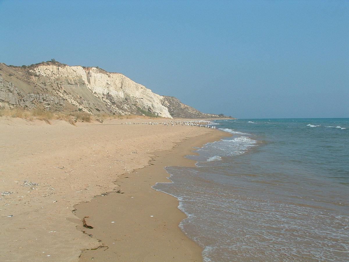 Riserva naturale orientata torre salsa wikipedia - Torre specchia spiaggia ...