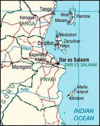 Mafia Island - Image: Spice Islands (Tanzania)