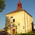 Spitalni kostel na Ujezde Bilina.JPG