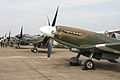 Spitfire line-up - Flying Legends 2011 (6846139632).jpg
