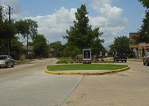 Spring Branch, Houston - Image: Spring Branch Entrance