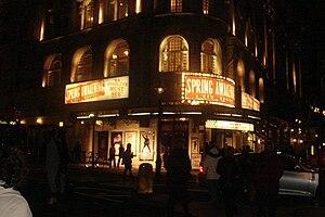 Spring Awakening (musical) - Spring Awakening at London's Novello Theatre, spring 2009