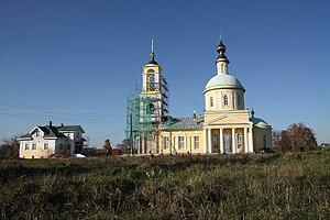 St. Nicholas Church (Buzhaninovo) - Image: St.Nicholas Church Buzhaninovo