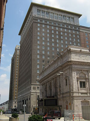 Marriott St. Louis Grand Hotel - 1917 tower of the hotel