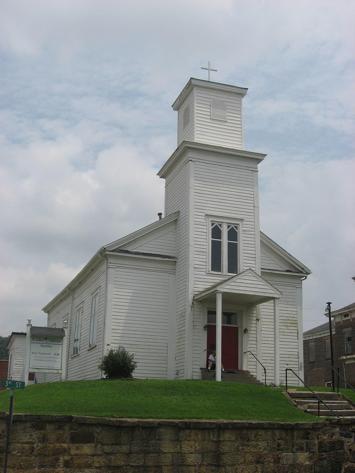 St. Luke's Episcopal Church (Cannelton, Indiana) - Wikipedia