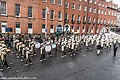 St. Patrick's Day Parade (2013) In Dublin - Purdue University All-American Marching Band, Indiana, USA (8565463693).jpg