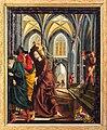 St. Wolfgang kath. Pfarrkirche Pacher-Altar Tempelreinigung 01.jpg