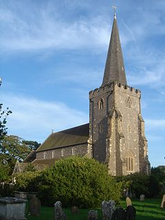 St Andrews Church, West Tarring Church in West Sussex , United Kingdom