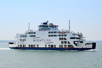 Wightlink - St Clare, July 2013.